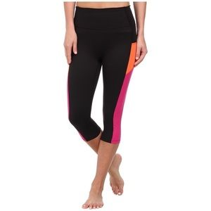 Spanx High Rise Knee Crop Workout Pants
